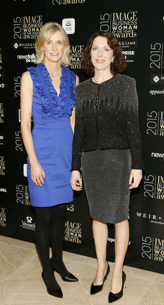 Anne Keys and Sarah Kelly, The panel. Image credited to IMAGE Magazine