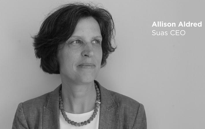 Allison Aldred, the CEO of SUAS