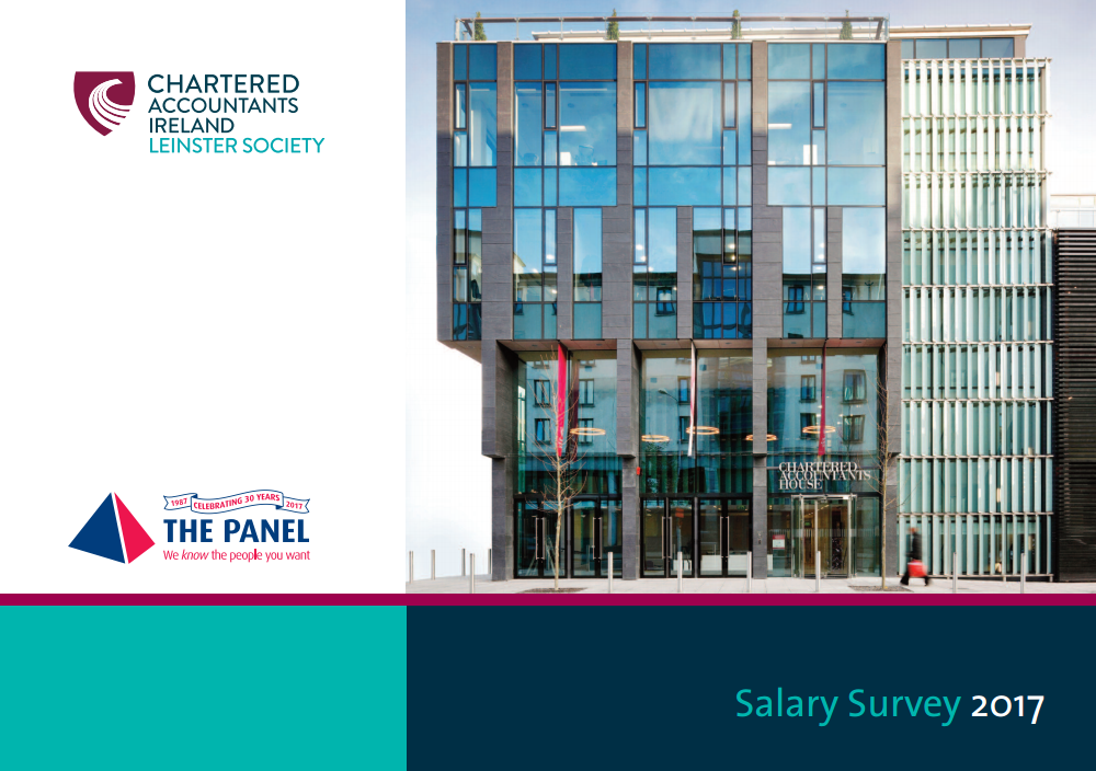 Chartered Accountants Ireland Salary Guide 2017 cover