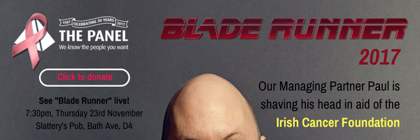 Click to donate on behalf of Blade Runner 2017